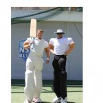Bouncy Stilt Cricketer & Umpire small