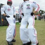 Stilt motor sport drivers