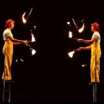 Firemen Fire juggling small
